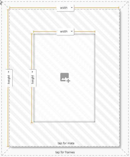 custom picture frames classic walnut matboard and more. Black Bedroom Furniture Sets. Home Design Ideas